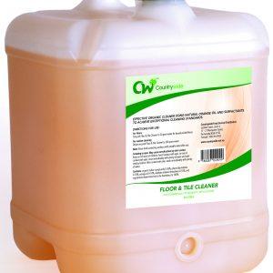 Floor & Tile Cleaner with Natural Orange Oil 20L
