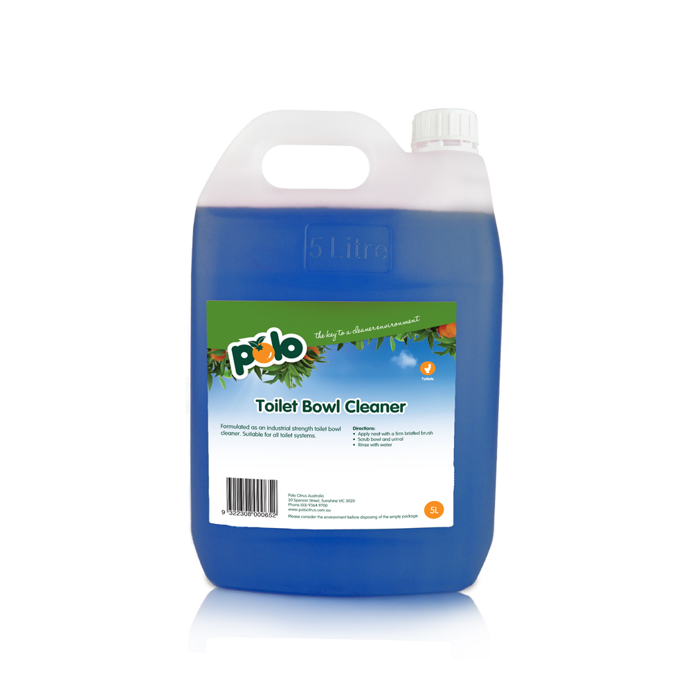 Polo citrus 5l toilet bowl cleaner 4 brentcorp - Industrial strength bathroom cleaner ...