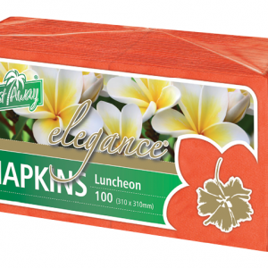 Napkin Lunch Red