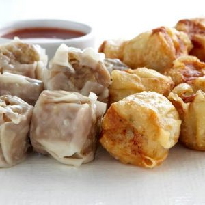 chicken mini dim sim