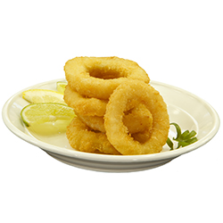 A & T Squid Rings Crumbed