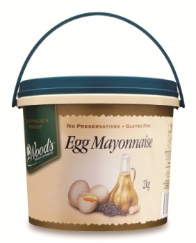 Woods Whole egg Mayonnaise