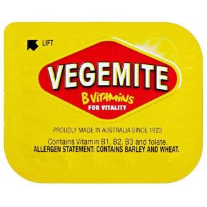 full 1 - BEGA VEGEMITE PORTIONS 60PC