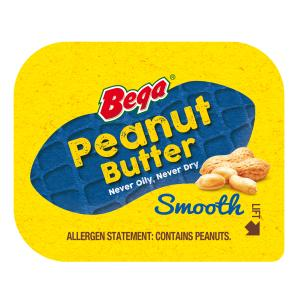 full 3 - BEGA PEANUT BUTTER PORTIONS 50PC