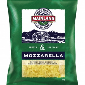 mozzarella shred mainland 800x 300x300 - MAINLAND MOZZARELLA SHREDDED 2kg