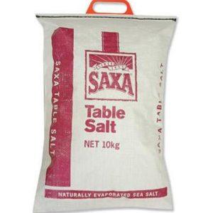 SAXA Table Salt 10kg