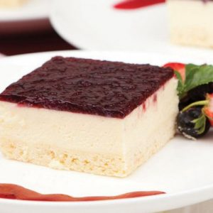 Boysenberry Cheesecake