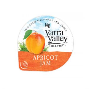 apricot jam 16g 300x300 - YARRA VALLEY APRICOT JAM PORTIONS