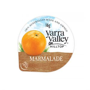 marmalade 16g 300x300 - YARRA VALLEY MARMALADE PORTIONS