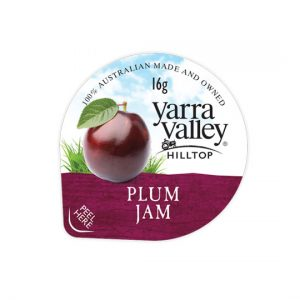 plum jam 16g 300x300 - YARRA VALLEY PLUM JAM PORTIONS