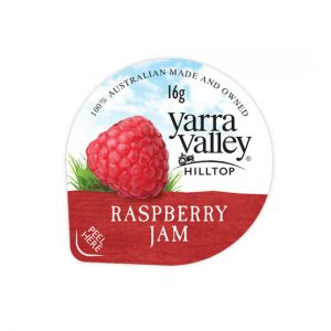 raspberry jam 16g 300x300 - YARRA VALLEY RASPBERRY JAM PORTIONS