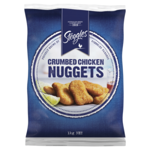 9657560760350 300x300 - STEGGLES CRUMBED CHICKEN NUGGET 1KG