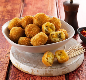 Jalapeno Cheese Bites