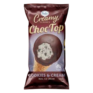 Choc Top Cookies & Cream