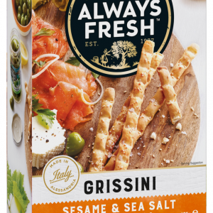 Riviana Grissini Sesame & Sea Salt 125g