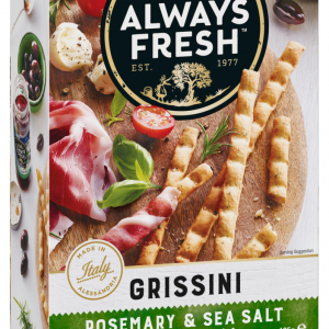 Riviana Grissini Rosemary & Sea Salt 125g