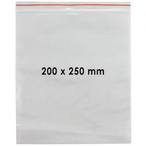 FPA Self Seal Poly Bag 200x250mm 100pc