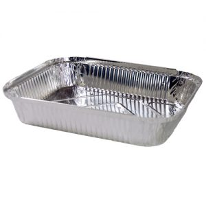 FPA Foil Container Square Large 100pc