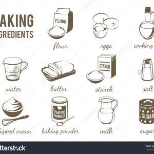 Baking Ingredients Dry