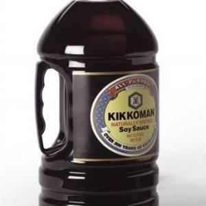 Kikkoman Naturally Brewed Soy Sauce 3L