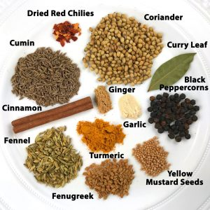 CURRY POWDER & SPICES