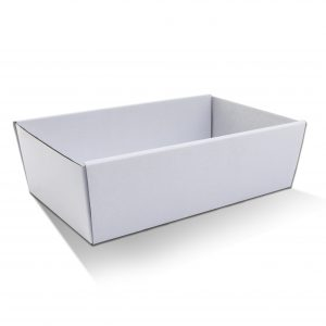 White Catering Tray Large