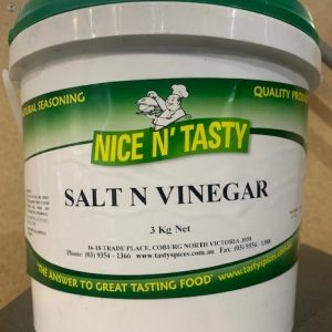 Nice N' Tasty Salt & Vinegar 3kg