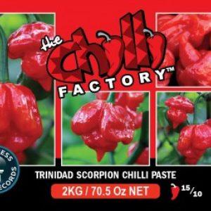 Trinidad Scorpion Chilli Paste 1lt