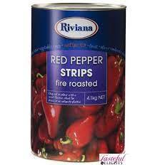 Fire Roasted Pepper Strips