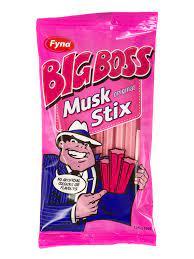 Big Boss Musk Stix 125g