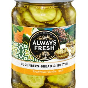 Bread & Butter Cucumber