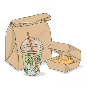 Takeaway Containers & Bags